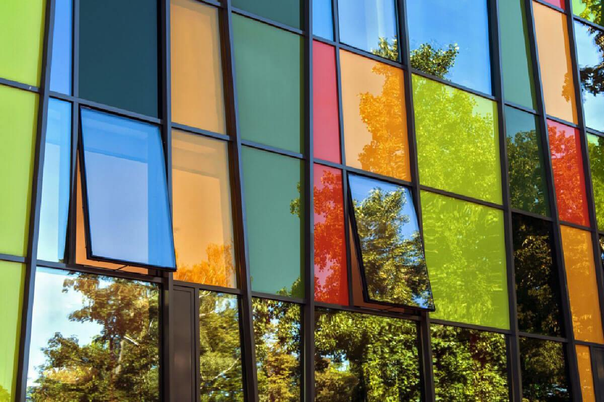 Coloured Aluminium Windows Kent